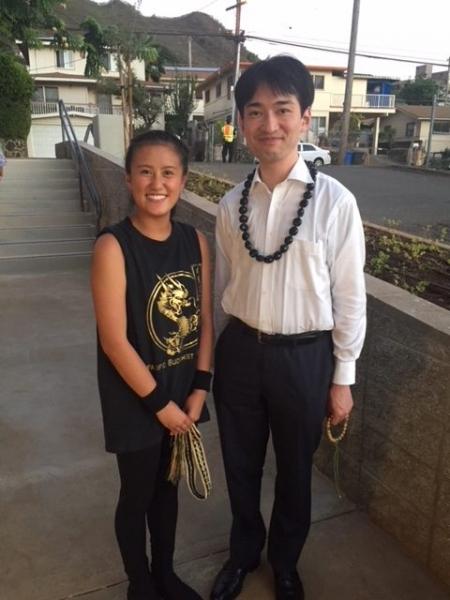 Sherra with Gomonshu
