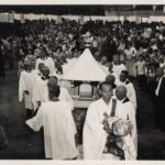 Chigo Procession led by Rev. Deme